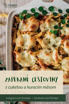 Skvelý obed plný bielkovín pre všetkých milovníkov cestovín. Mozzarella, Lasagna, Cauliflower, Ale, Vegetables, Ethnic Recipes, Food, Lasagne, Beer