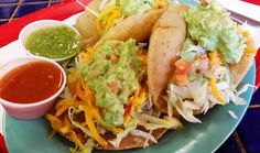 With all the talk around town about a brewing taco war between Austin and San Antonio, let's shed some light on a true San Antonio classic: the puffy taco. Appetizer Recipes, Dinner Recipes, Dinner Ideas, Puffy Tacos, Extreme Food, Mexican Food Recipes, Ethnic Recipes, Cook At Home, Southern Recipes