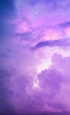 Simple Wallpaper - Clouds & Moon Lockscreen