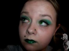 My St. Patricks Inspired Makeup Look    List Of Products:  http://networkedblogs.com/vyk4Y