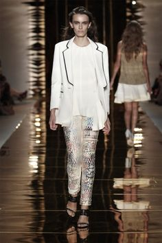 Cynthia Rowley Spring 2012   (Outfit #19)
