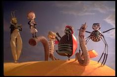 james and the giant peach... one of the first Tim Burton movies i watched