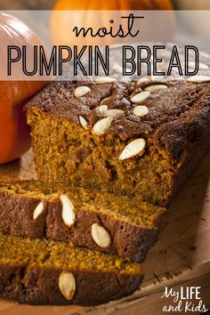 Your family will fall for this delicious, moist pumpkin bread recipe. So simple and so good!.