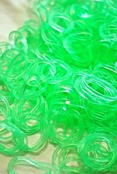 Refill Bands & S-clips Colorful Variation Rubber Bands for Any Loom Kit (Scented - Silicone) (Glow in the Dark Green) Proaktif http://www.amazon.com/dp/B00GS9AHOQ/ref=cm_sw_r_pi_dp_j-Nhub0ZRBR7Z