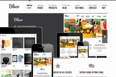 Blaco Responsive WordPress Theme ~~ Blaco is a beautiful, fully responsive WordPress theme built on a powerful framework. This theme's clean lines and subtle textures make it easy to read and suitable for many industries.    The dynamic options panel and powerful page builder plugin make it po…