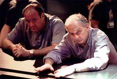 James Gandolfini e David Chase