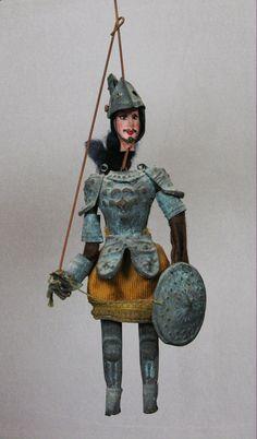 SALE  RARE  Authentic Antique Old Sicilian Puppet, Marionette, Museum Quality, Collectors item