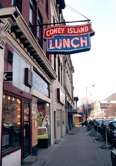 Coney Island for burgers and dogs