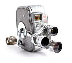 Vintage Keystone Movie Camera - K-27 Capri Triple Turret 8MM Camera / 1950s Cinema by MaejeanVINTAGE, $80.00