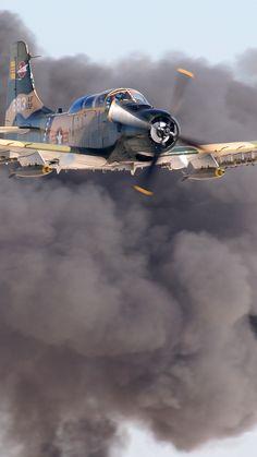 Aircraft Propeller, Ww2 Aircraft, Fighter Aircraft, Military Aircraft, Fighter Jets, Douglas Aircraft, Close Air Support, Thing 1, Nose Art