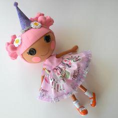 Lalaloopsy Doll Party Dress & Hat