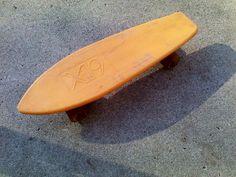 Vintage Orange X-19 Skateboard Universal Grabber-1 #X19