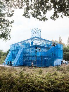 Assemble, Jeroen Verrecht · NewCastle stage at Horst Arts & Music festival