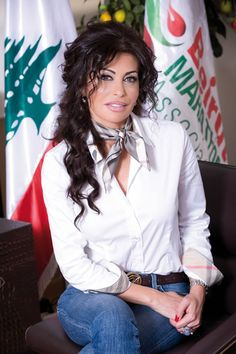 honorary doctorate in humane letters#May El Khalil#president of the Beirut Marathon Association#BeirutCampus#2013#commencement