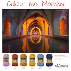 Brought to you by Scheepjes. Each Monday we release a new Inspirational Snapshot to help you plan your knit and crochet projects! www.scheepjes.com #Scheepjes #Scheepjeswol Colours That Go Together, All The Colors, Yarn Color Combinations, Color Schemes, Paint Color Chart, Colour Pallette, Color Harmony, Crazy Colour, Yarn Shop