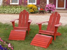 red  Outdoor Chairs