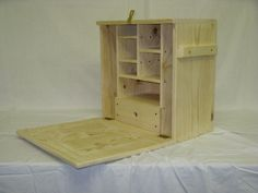 Field Desk from Blue Ridge Woodwork. Can be ordered customized.