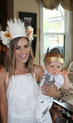 TESSA RAYANNE: CASH IS ONE: COWBOYS & INDIANS 1st BIRTHDAY PARTY