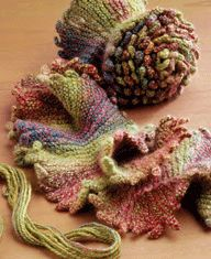 Free Pattern: The Helix Scarf - Knitting Daily -Love the picot edging on this scarf (saved in downloaded patterns)