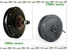 High speed 700c 1000w/1500w bldc hub motor