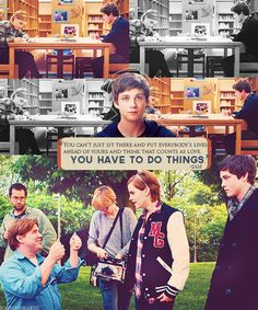 The Perks of Being a Wallflower is becoming a movie?! With Emma Watson. Ahh so excited!
