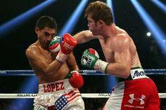 Video de la pelea entre Saul el Canelo Álvarez vs Josesito López por el título WBC, en la categoría de peso Súperwelter llevada a cabo el Sábado 15 de Septiembre del 2012 en el MGM Grand, Grand Garden Arena, Las Vegas, Nevada, Estados Unidos. Canelo Álvarez fue el vencedor por KO en el Round 5.