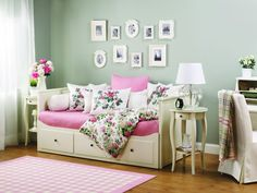 Make your home an english garden with feminine florals from the EMMIE collection.