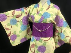 浴衣 YUKATA JAPONAIS - BOUQUETS 1431