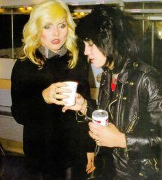 musicthatspeaks: *Debbie Harry and Joan Jett !!!!!!!
