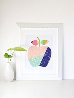 14 Free Colorful Printables to Brighten Up Your Home This Winter via Brit + Co