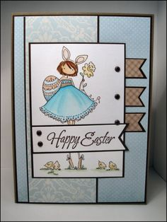 Stamping Bella – Uptown Girl Bunny and her Daffodil