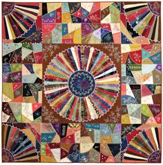 Work-In-Progress: Janice Vaine's Embroidery and Patchwork Revisited   http://quiltbooksandbeyond.com/work-progress-embroidery-patchwork-revisited/
