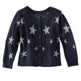 This starry cardi has subtle shimmer threads that make it shine. Pair it with all her fall favorites for a little sparkle.