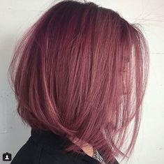 How-To: Dusty Violet Rose Violet Things violet hair color Dusty Pink Hair, Rose Pink Hair, Pastel Purple Hair, Violet Hair Colors, Hair Color Purple, Cool Hair Color, Dark Pink Hair, Dusty Rose Hair Color, White Hair