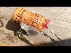 Lure Fishing - Fishing Tools - How to make Cicada Lure from Wine Cork(13) Ve Sầu Nút Chai Lure - YouTube