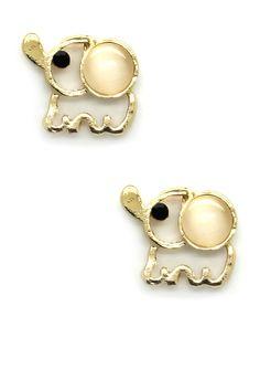 Golden Trunk Earrings - so cute!