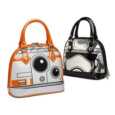 Styled like BB-8 or Captain Phasma, these purses from Loungefly are guaranteed to be a hit at the box office. They're SHINY, in both the Firefly sense and the literal sense, made from faux patent leather.