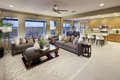 Sierra (Plan 3) Great Room by Mountain House, CA  #new #homes #mountain #house  http://cmmun.it/UmSLhe