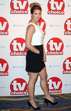 Gemma Atkinson Photos - Gemma Atkinson attends the TV Choice Awards 2015 at Hilton Park Lane on September 2015 in London, England. Gemma Atkinson, Blonde Beauty, Choice Awards, Put On, Physique, Red Carpet, Thighs, Beautiful Women, Tv