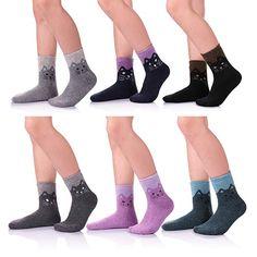 Socks with Fingers for Girls Boys Kids Animal Pattern Toe Socks Children Cotton Crew Socks 4 Pairs