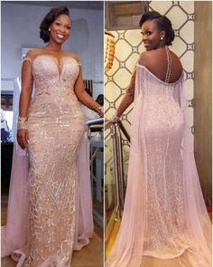 Asoebi Styles for wedding:check out 25 stunning and beautiful Asoebi styles for .Asoebi Styles for wedding:c African Prom Dresses, Latest African Fashion Dresses, African Dress, Women's Dresses, Elegant Dresses, Beautiful Dresses, Evening Dresses, Party Dresses, African Style