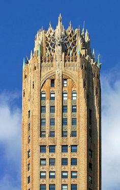 570 Lexington Avenue, Rascacielos Art Deco en Nueva York #arquitectura #rascacielos #newyork