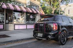 Cooper | MINI in Denver | Custom MINI cooper | Pink Mini cooper | Mini cooper countryman | car photography | dream car | mini | Denver | the mile high city | Schomp MINI | an original @Schomp MINI pin