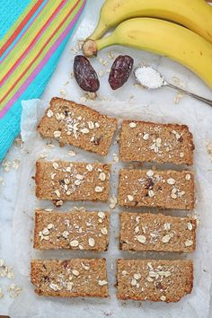 Sugar Free Flapjacks Oat Bars. Perfect for kids and baby led weaning | My Fussy Eater Blog