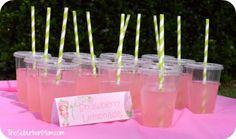 Strawberry Shortcake Birthday Party Deserts, Printables & Ideas