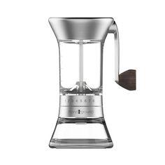 Handground Precision Coffee Grinder: Nickel