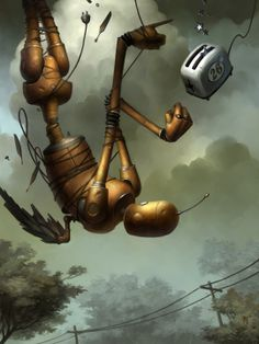 "the duel by Brian Despain – from ""Tin Machines and Mercuric Dreams"""