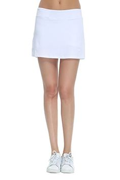 Honour Fashion Women's Golf Underneath Shorts Skorts (White, X-Large) *** You can find out more details at the link of the image.