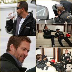 Paul Walker and Roger
