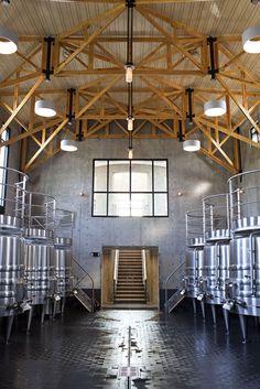 Gorgeous!  Fermentation room/barn. #vineyard
